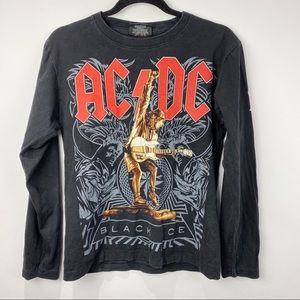 AC/DC long sleeve graphic tee